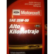 Aceite Multigrado Alto Kilometraje Motorcraft 25w-50