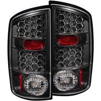 Dodge Ram 02-05 L.e.d T.l Black