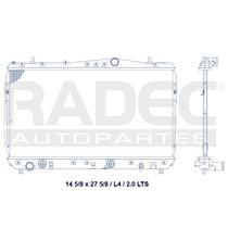 Radiador Optra 06-10 L4 2.0 Lts Autom