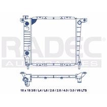 Radiador Mazda Pick Up 85-94 L4 2.6 Lts Automatico