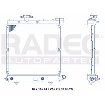 Radiador Chrysler Caravan 90-92 Ml4 V6 Automatico