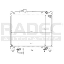 Radiador Tracker/vitara 89-98 L4 1.6 Lts Automatico