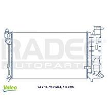 Radiador Peugeot 306 2000-2001-2002 1.6lts Ml4 Estandar