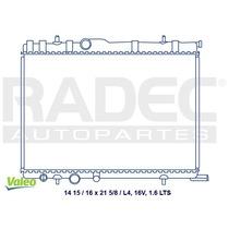Radiador Pg 307/partner 07-10 L4 1.6lts 16v Estandar