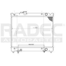 Radiador Chevrolet Tracker 1989-1990-1991-1992 L4 1.6lts Aut