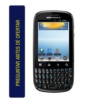 Celular Motorola Xt316 Cám 3mpx Tecladoqwerty Whatsapp Wifi