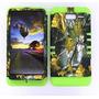 Motorola Droid Razr M Xt907 Camo Dried Caso Deber Hojas Pesa