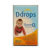 D Gotas Líquido Vitamina D3 Baby - 400 Ui - 0,08 Fl Oz