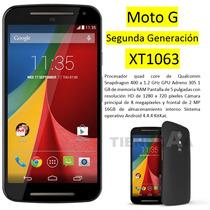 Moto G Segunda Generacion Xt1063 Oferta Nuevo Mas Un Regalo