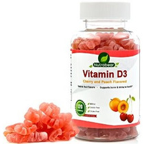 La Vitamina D3 800 Ui Gummies - 100% Vegetariana Para Niños
