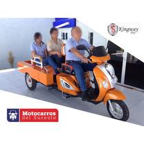 Mototaxi Multiproposito (2 Personas + Carga) Motocarro