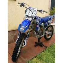 Remato Cross Yamaha 2009 Cross Yz250f 4 Tiempos Como Nueva