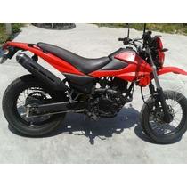 Dm 150 Italika Rojo Con Negro