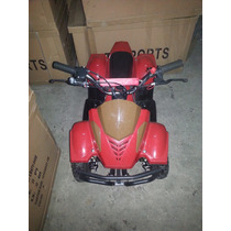 Mini Cuatrimoto 49 Cc Roja Mini Quad Mini Atv Tj Sports