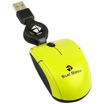 Mini Mouse Optico Usb Retractil Verde 1000 Dpi Pc Acteck