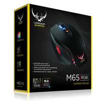 Mouse Corsair M65 Rgb Alambrico Black