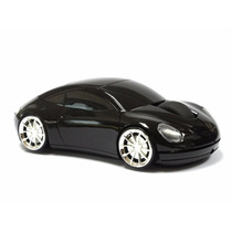 Internet Optical Mouse Con Forma De Flamante Carro Porsche