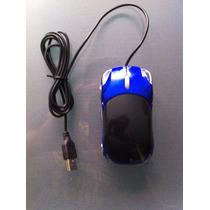 Optical Mouse ( Blue Car )