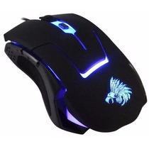 Mouse Gamer Eagle Warrior G13 Optico Usb Luz Led Factura!