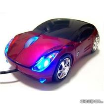 Mouse Usb Optico Tipo Auto Ferrari Led Colores 3d 800dpi