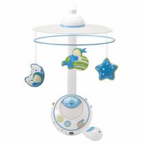 Movil Carrusel Magia De Estrellas Boy Azul Chicco