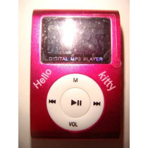 Reproductor Mp3 Lcd Kitty Color Rosa, Nuevo