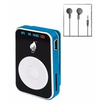 Musica Reproductor Mp3 Tipo Shuffle Micro Sd Recargable Usb
