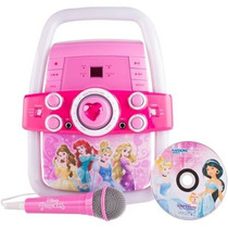 Karaoke Con Luces Disney Princess