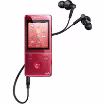 Sony Walkman, Reproductor Mp3/mp4, Nwz-e473 Rojo 4gb, Usb2
