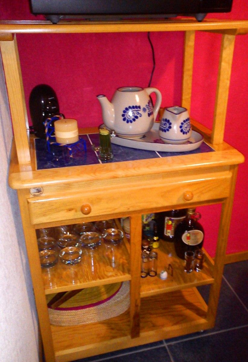 Foto Modelo Muebles Cocina Madera Rustico 08 Muebles De - Muebles De ...