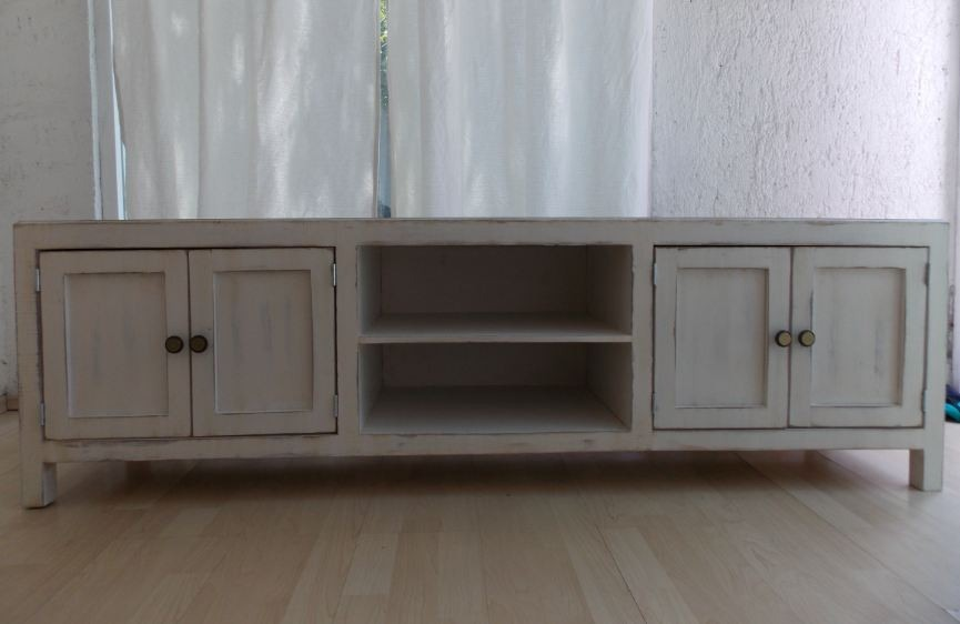 muebles bao estilo de tv estilo vintage color blanco antiguo decapado u muebles bao estilo antiguo