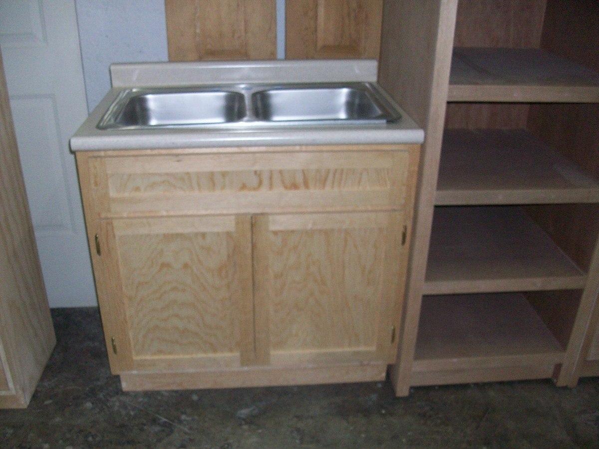 Muebles para fregadero de cocina dise os arquitect nicos - Fregaderos de granito para cocina ...