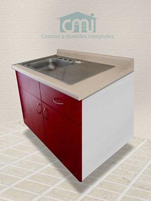 Mueble fregadero de 1 metro para cocina integral 2 650 for Mueble fregadero cocina