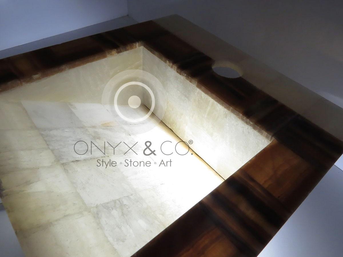Lavabos Para Baño De Onix:Lavabos De Baño Minimalistas Resina Acrilica Circular Plasba Pictures
