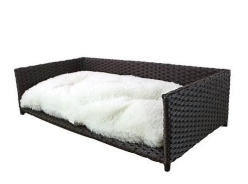Mueble sofa cama almohada cojin 2en1 perro grande gato e4f - Mueble sofa cama ...