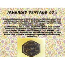 Muebles Vintage, Antiguo, Reciclados, Mesa De Carrete