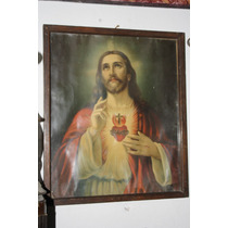 Cuadro Antiguo Jesus