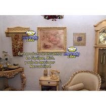 Cuadro Con Imagen, Renovado Al Estilo Shabby Chic, Vintage A