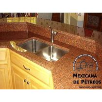 Cubiertas De Granito Rojo Capao Para Cocinas Integrales