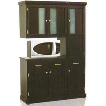 Mueble para cocina alacena madera blanco para micro crz - Alacenas modernas fotos ...