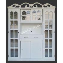 Mueble Porta Microondas Modelo. Sidney Jumbo Rodajas Y Chapa