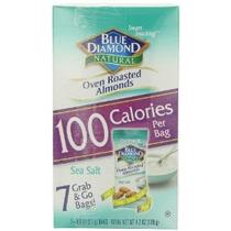 Blue Diamond Almendras 7-100-calorie Packs Horno Asadas Sal