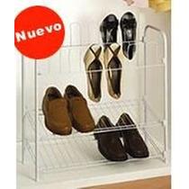 Zapatera Metalica 12 Pares Zapatos Closet Recamara Jt**