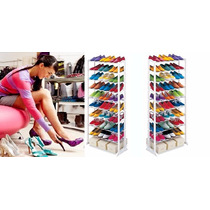Amazing Shoe Rack Organizador De Zapatos 10 Niveles 30 Pares