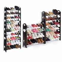 Rack Zapatera 10 Niveles 30 Pares Zapatos Facil Practico
