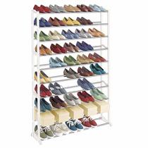 Estante Zapatos Capacidad 50 Pares Tacones 10 Niveles