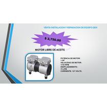 Motor Libre De Aceite 1 Hp Para Compresor