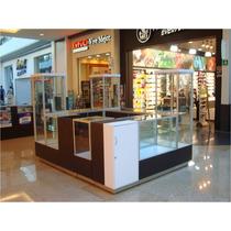 Vitrina Exhibidora De Productos Para Isla En Centro Comercia