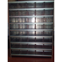 Gabinete Gavetera Cajonera Visible Metalico Con 40 Cajas