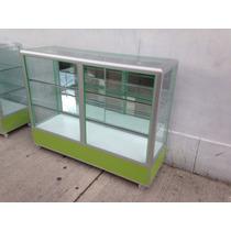 Vitrina Exhibidora Aluminio Nueva 1.50